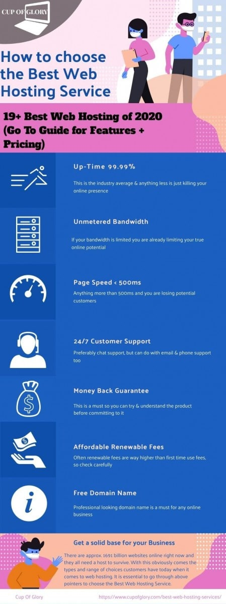 Best Web Hosting Infographic