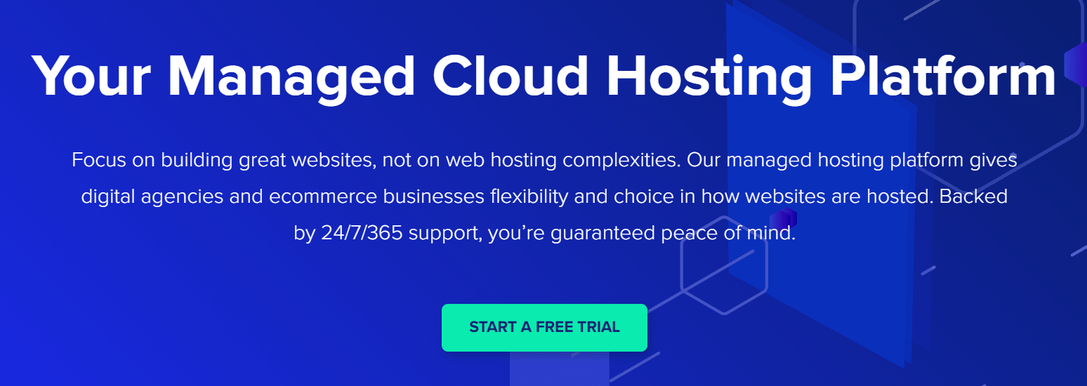 cloudways homepage